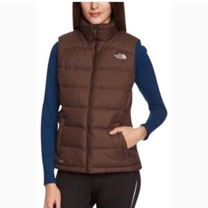 The North Face 700 Brown Puff Vest
